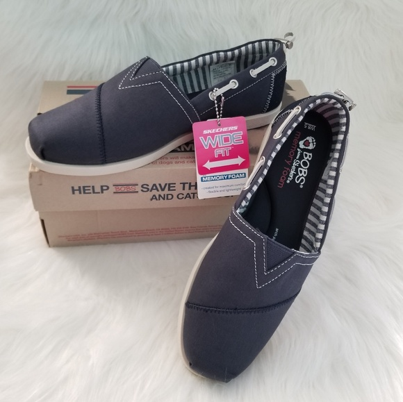 Skechers Shoes | Bobs By Sketchers Navy